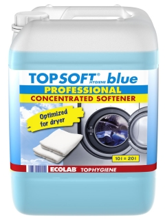 TOPSOFT BLUE 10 l